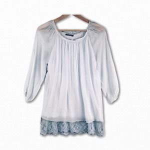 Giulia's Nordstroms Italian Silk Tunic Blouse